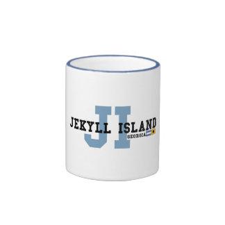 Jekyll Island. Ringer Mug