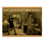 Jekyll y Hyde - postal