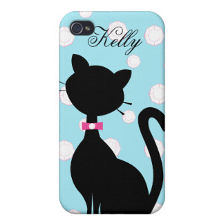 Jeleweled Kitty Case For iPhone 4