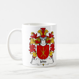 Jelita Family Crest Classic White Coffee Mug