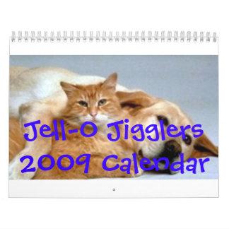 Jell-O Jigglers Calendar