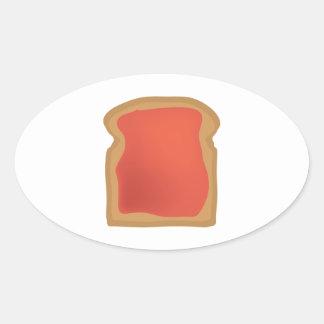Jellied Bread Oval Sticker