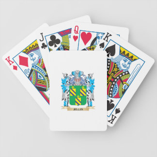 Jellis Coat of Arms - Family Crest Deck Of Cards