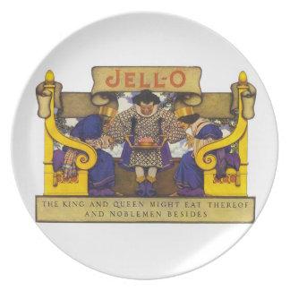 Jello Advertising Dinner Plate
