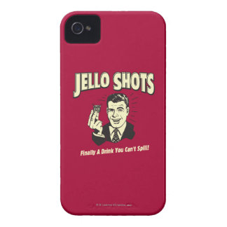 Jello Shots: Drink You Can't Spill iPhone 4 Case-Mate Case