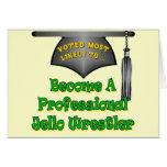 Jello Wrestler Card