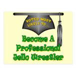 Jello Wrestler Post Card