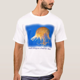 jelly_2613_Paint, no such thing as a bad hair day T-Shirt