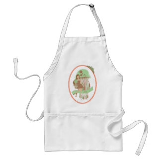 jelly adult apron