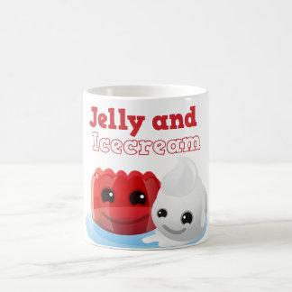 Jelly and icecream coffee mug