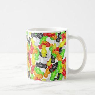 Jelly Baby Wallpaper Coffee Mugs