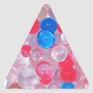 jelly balls triangle sticker