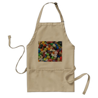 Jelly Bean black blue green Candy Texture Template Aprons
