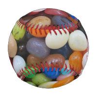 Jelly Bean black blue green Candy Texture Template Baseball