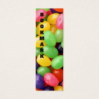 Jelly Bean Bookmark Mini Business Card