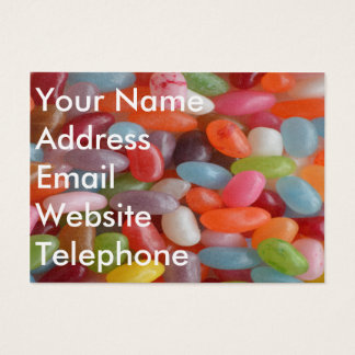 Jelly Bean Business Card