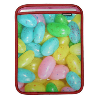 Jelly bean candies sleeves for iPads