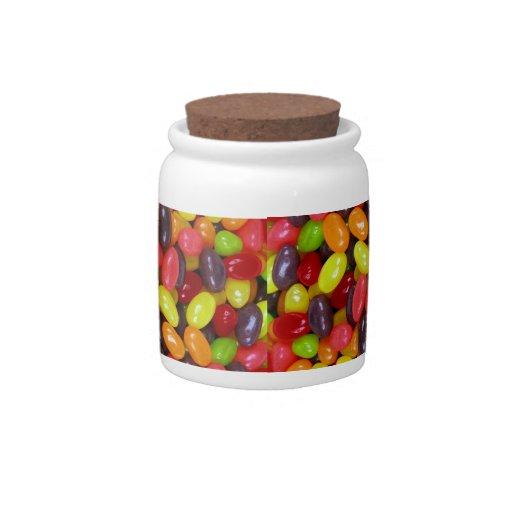 Jelly Bean Candy Jar