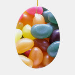 Jelly Bean Ceramic Ornament