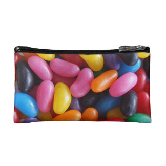 Jelly Bean Cosmetic Case or Clutch