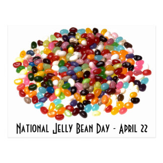 Jelly Bean Day Postcard