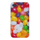 Jelly Bean - Easter Jellybeans Background Template Covers For iPhone 4