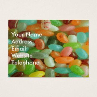 Jelly Bean green Business Card