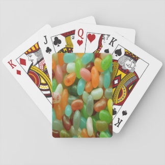 Jelly Bean green Playing Cards