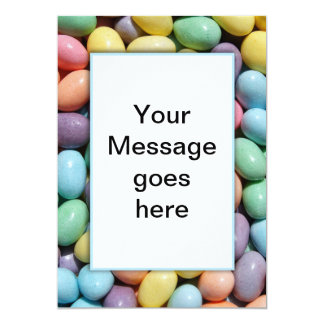 Jelly Bean Invitation Template