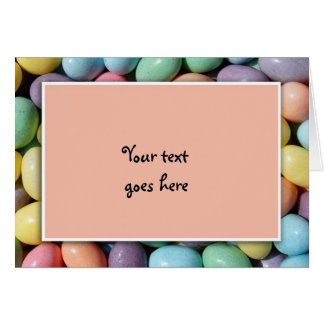Jelly Bean Invitation Template Stationery Note Card