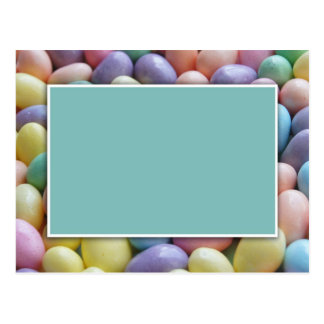 Jelly Bean Invitation Template Postcard