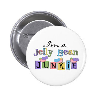 Jelly Bean Junkie T-shirts and Gifts Pins