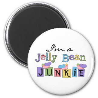 Jelly Bean Junkie T-shirts and Gifts Refrigerator Magnet