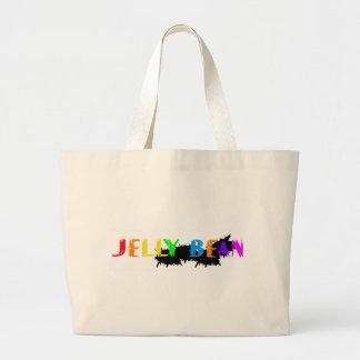 Jelly Bean logo Canvas Bags