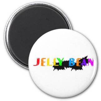 Jelly Bean logo Magnet