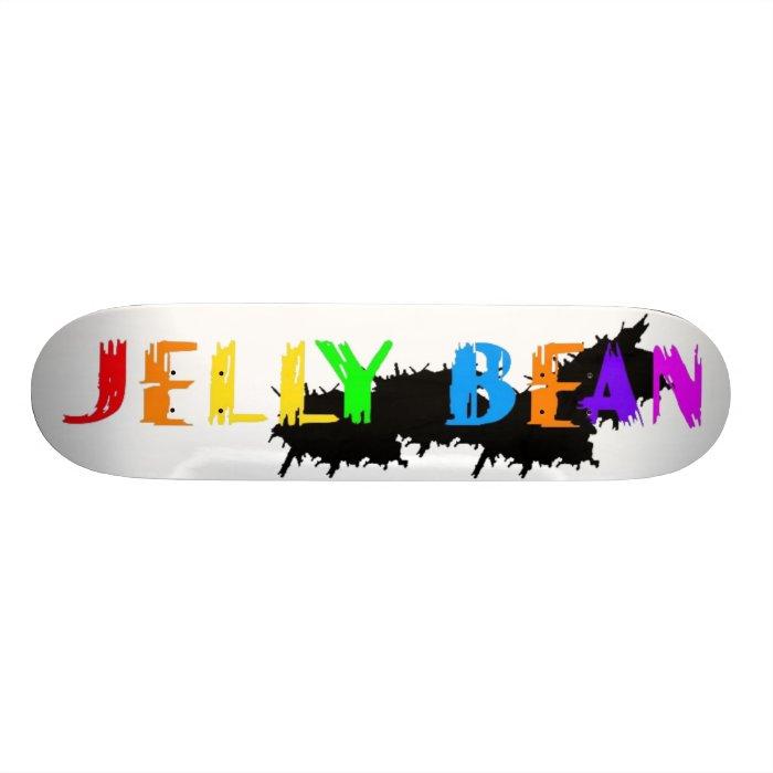 Jelly Bean logo Skateboard