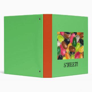 Jelly Bean notebook Binder