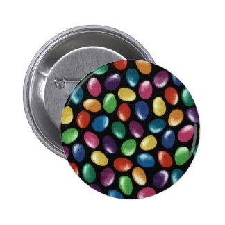 Jelly Bean Pinback Button