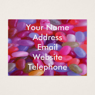 Jelly Bean pink Business Card