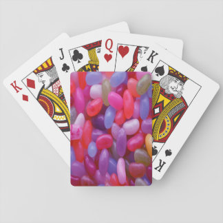 Jelly Bean pink Playing Cards