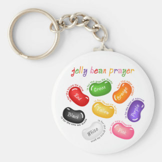 Jelly Bean Prayer Keychain