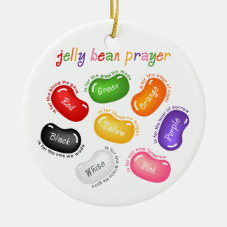 Jelly Bean Prayer Ornament