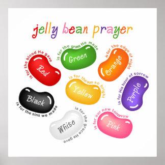 Jelly Bean Prayer Poster Print