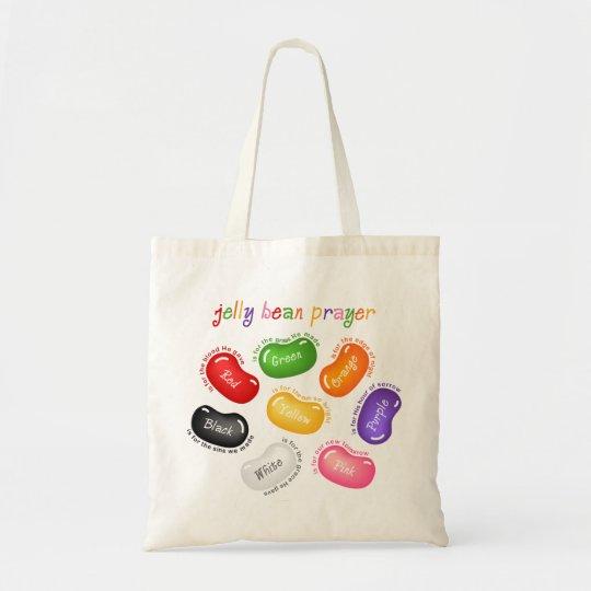 Jelly Bean Prayer Tote Bag