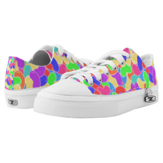 Jelly Bean Scene Printed Shoes