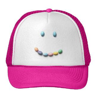 Jelly Bean Smiley Face Trucker Hat