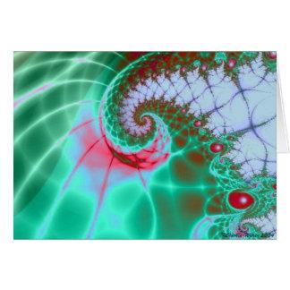 Jelly Bean Spiral Card