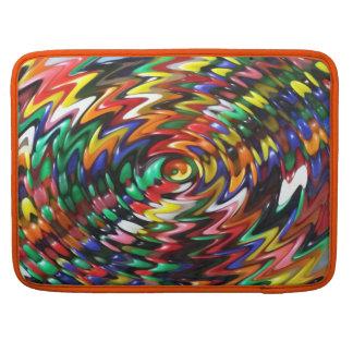 jelly Bean Swirl Sleeve For MacBook Pro