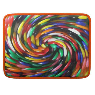 jelly Bean Swirl Sleeve For MacBook Pro