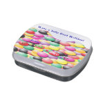 Jelly Bean Tin with Custom Message Jelly Belly Candy Tin